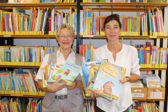 In der Bibliothek von Schönwalde-Glien