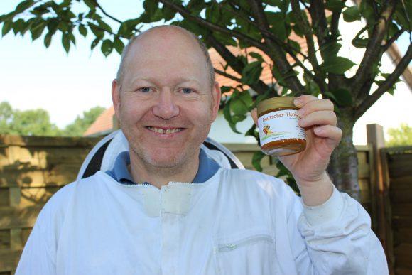 Thomas Raabe in Falkensee: Eigener Honig