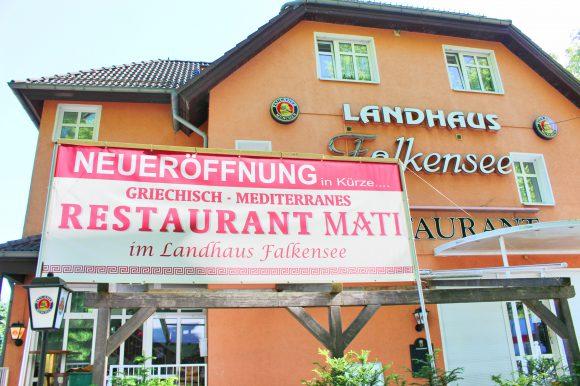 Neues Restaurant: MATI  im Landhaus