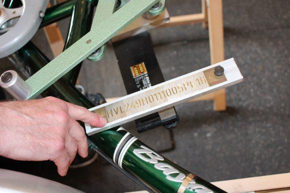 RadGeber: Fahrrad kodieren in Brieselang