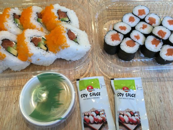 Asia Vu in Falkensee: Sushi to go!