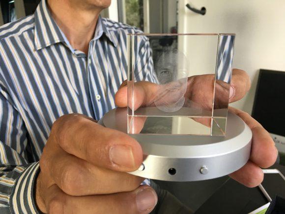 Schönwalde – Glien OT Wansdorf: 3D-Laser in Aktion