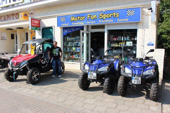 Motor Fun Sports in Falkensee: Das eigene Quad