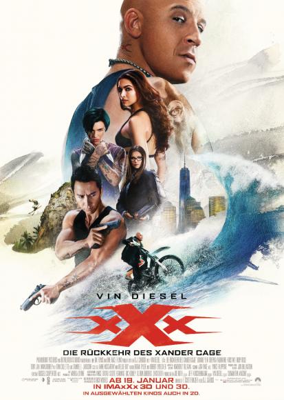 Kino-Filmkritik: xXx 3 – Die Rückkehr des Xander Cage