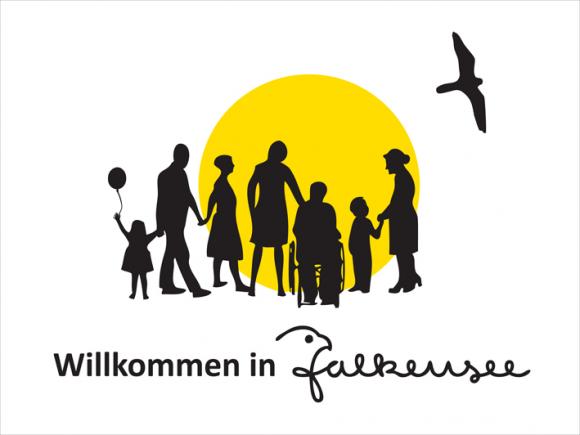 Falkensee: Neues Logo der Willkommensinitiative zum Umwelttag
