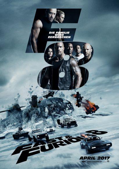 Kino-Filmkritik: Fast & Furious 8