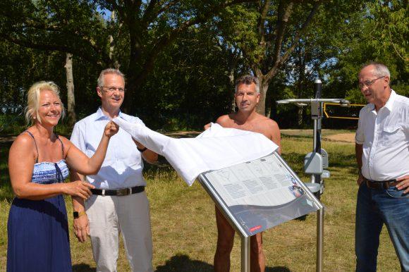 Nauener Stadtbad: Ein Fitnessstudio an der frischen Luft