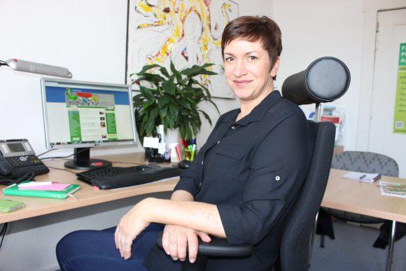 Babett Ullrich: Wirtschaft fördern in Falkensee