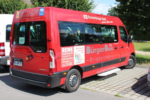 10 Jahre BürgerBus in Brieselang