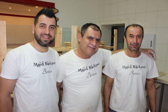 Spandau: In der Majid Bäckerei