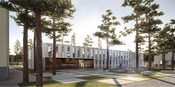 Das neue Rathaus in Dallgow