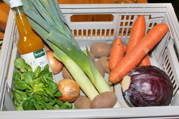 SpeiseGut Falkensee: Gemüse in der Kiste