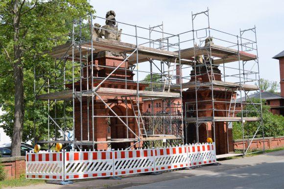 Denkmal Oranienburger Tor in Groß Behnitz wird teilsaniert