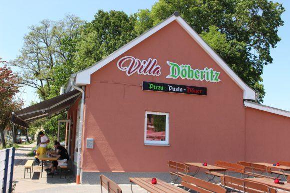 Bahnhof Dallgow: Lecker essen in der Villa Döberitz