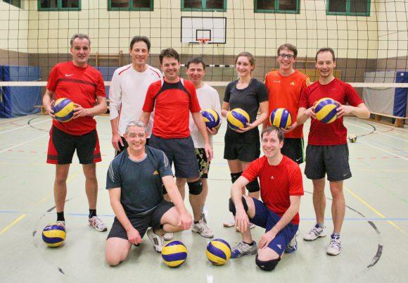 Die Volleyballer vom TSV Falkensee