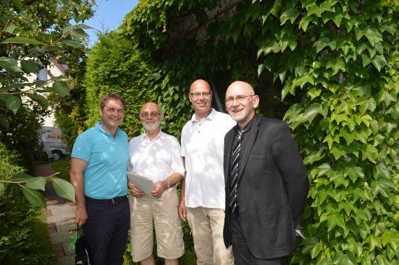 Falkensee: Herzliche Glückwünsche zu 40 Jahren Fenster Paradies Petro Mett
