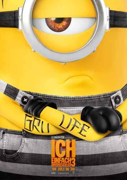 Kino-Filmkritik: Ich – einfach Unverbesserlich 3
