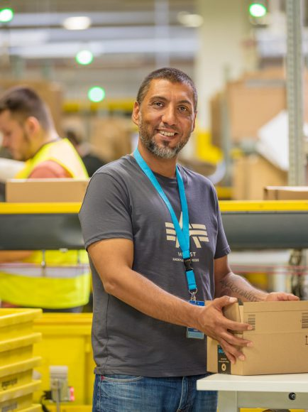 Amazon Brieselang bietet rund 500 Saisonarbeitsplätze zum Weihnachtsgeschäft an