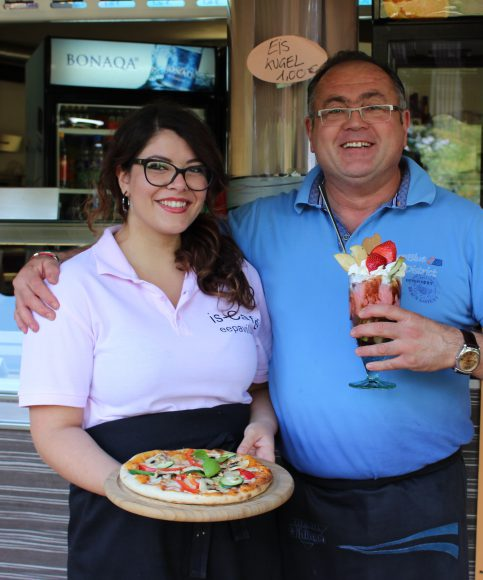 Der Seepavillon: Pizza am See in Falkensee