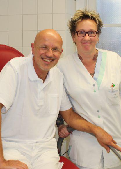Neue chirurgische Praxis im MDZ Nauen: Beim Proktologen