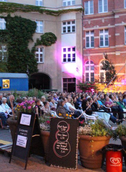 OpenAirKino in Berlin-Spandau