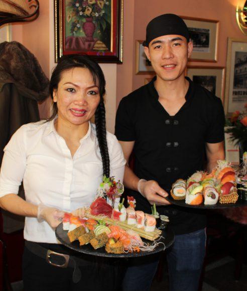 Der Goldfisch in Nauen: Meisterliches Sushi