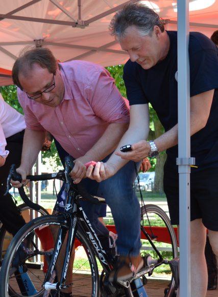 MBS-Fahrradtage in Nauen – Radsport für die gute Sache