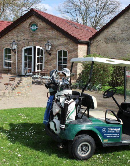 Lecker essen im Potsdamer Golf-Club