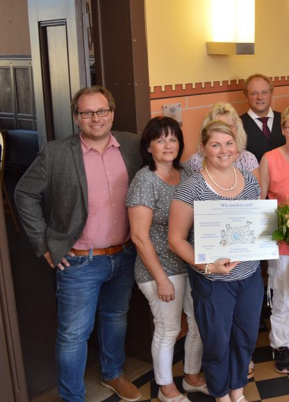 Sieben Kitas in Nauen erhalten Qualitätszertifikat