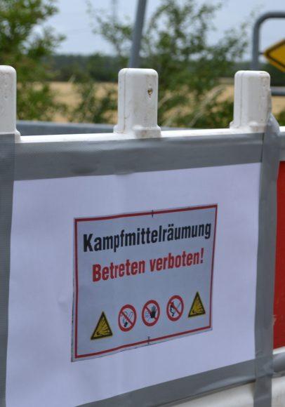 Neben Nauen: Bombe in Bredow-Luch erfolgreich gesprengt