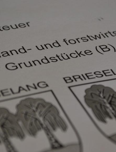 """Grundsteuer in Brieselang: """"Es bleibt alles beim Alten"""""""