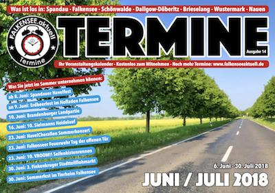 Termin-Heft 14 Cover