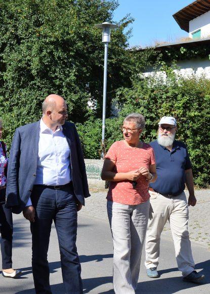 Zweitägiger Ortsbesuch von Landrat Lewandowski in Nauen