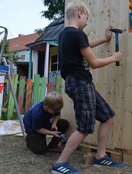 Startschuss für die Kinderstadt Nauen am 16. Juli