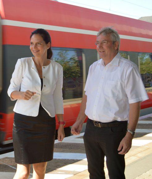 Staatssekretärin Ines Jesse zum Arbeitsbesuch in Falkensee