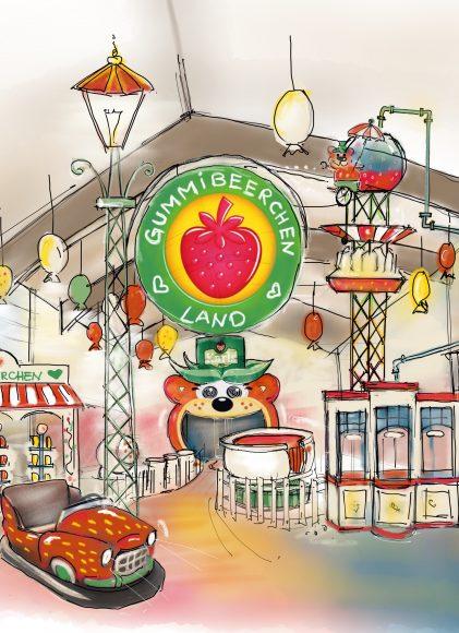 Süß und atem(be)raubend: Karls Gummibeerchen-Land eröffnet in Elstal bei Berlin