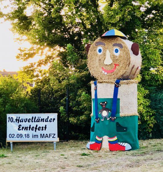 10. Havelländer Erntefest im Erlebnispark Paaren am Sonntag, 2. September