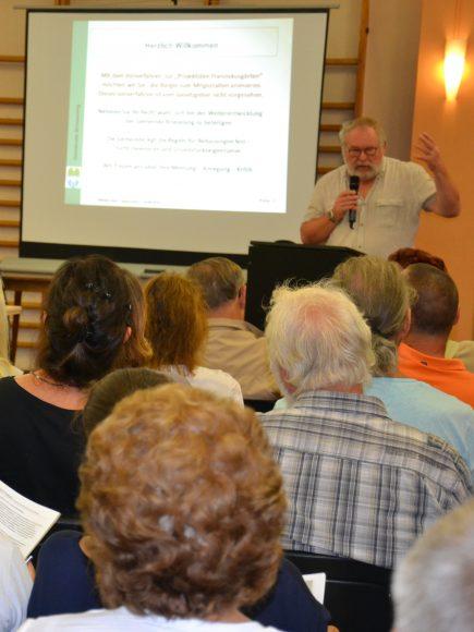 Franziskusgärten in Brieselang: Gesprächsbedarf nach Diskussionsveranstaltung bleibt