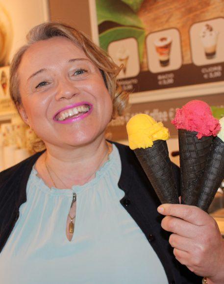 Bunte Eistherapie bei Eis to go Da Dalt