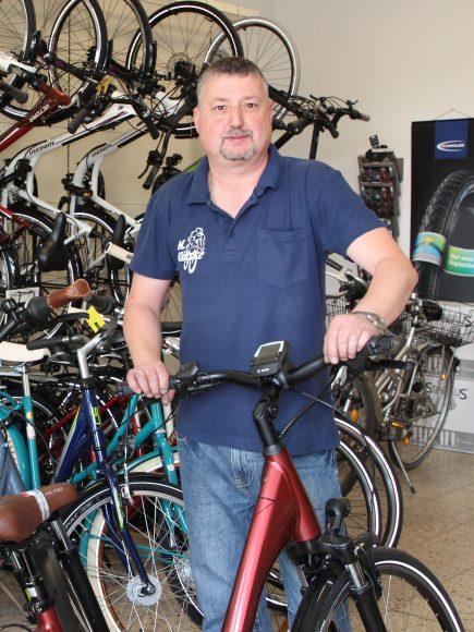 Schönwalde-Glien: Fahrrad fahren dank Mike Klützke