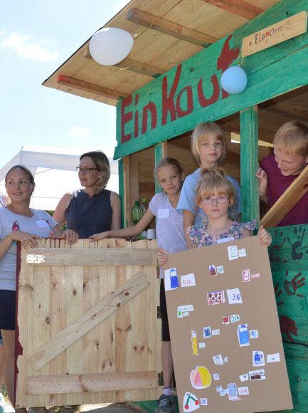 Kinderstadt Nauen – Bauwoche in den Herbstferien