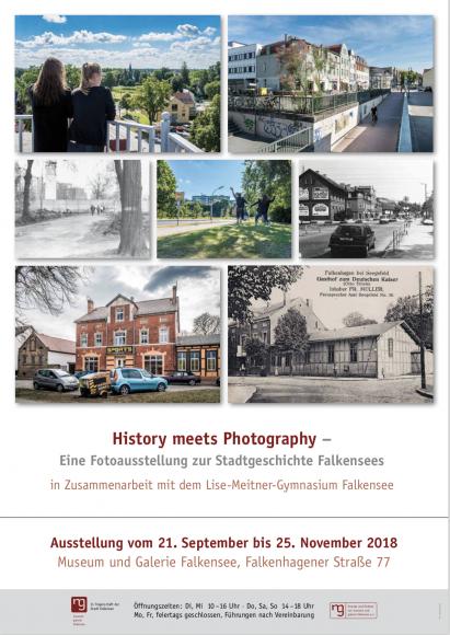History meets Photography – Eine Fotoausstellung zur Stadtgeschichte Falkensees