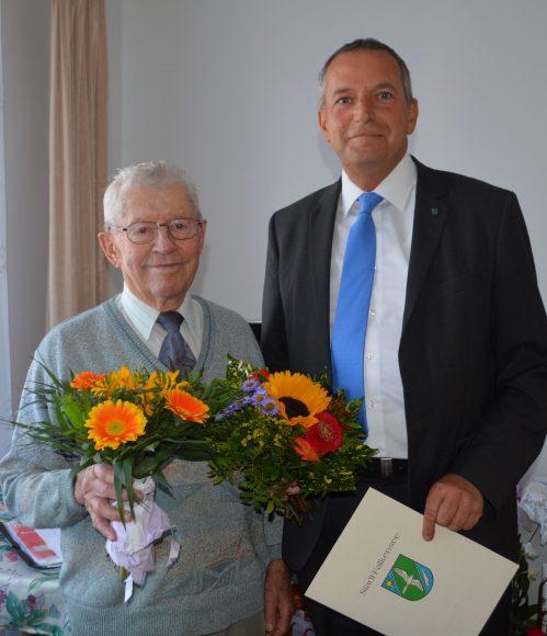 Falkensee: Glückwünsche zum 90. Geburtstag