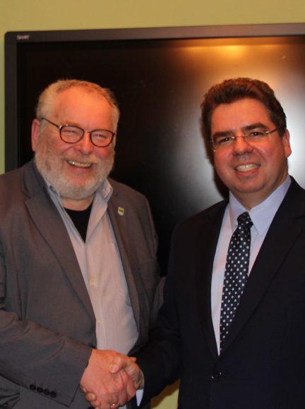 Michael Koch tritt für die Brieselanger CDU als Bürgermeisterkandidat und Spitzenkandidat für die Kommunalwahlen an