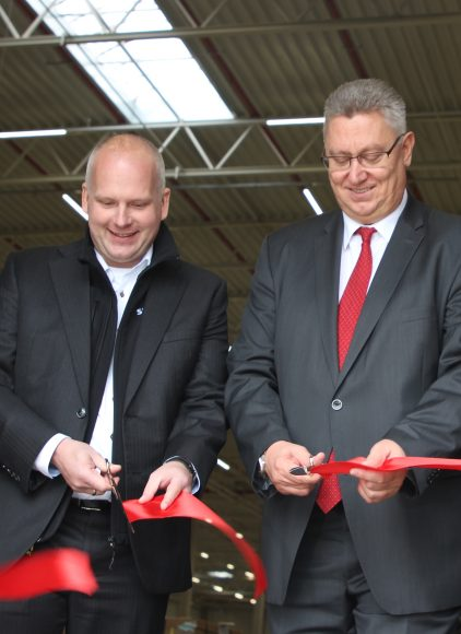 Falkensee: Einweihung des 2. BLG-Logistikzentrums