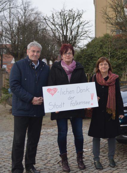 Frauenhaus Rathenow – Stadt Falkensee unterstützt bei der Anschaffung eines neuen Fahrzeuges