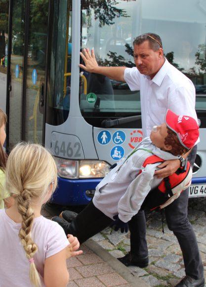 Nauen: In der Havelbus Schule