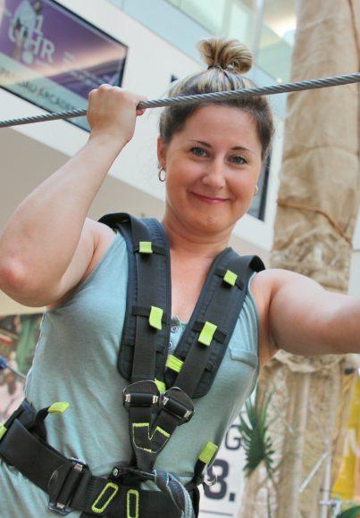 Spandau Arcaden: Klettern für den  guten Zweck!