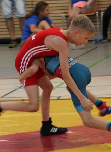 Niedergerungen: Bei den Ringern vom TSV Falkensee