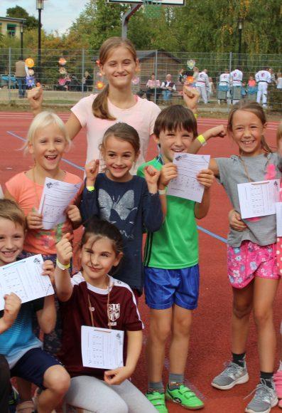 Falkensee: Großer Spendenlauf in der Geschwister-Scholl-Grundschule